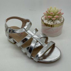 Girls Shoes Cool Chic Kerry Silver Sandals